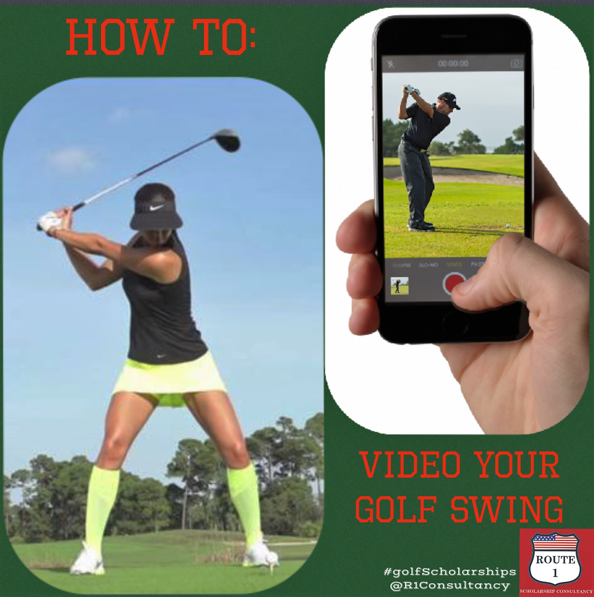 How To Video Your Golf Swing